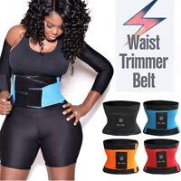 Men Women Xtreme Power Waist Trainer Trimmer Belt Slim Cinchers Body Shaper Wrap