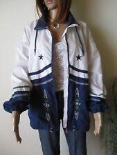 Rodeo Damen Sport Jacke Gr. L blau-weiß Outdoorjacke