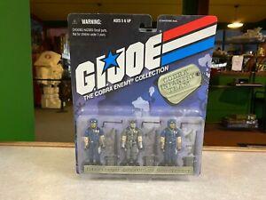 1998 Kenner GI Joe Cobra 15th Anniversary Cobra Infantry Team Figure 3 Pack MOC