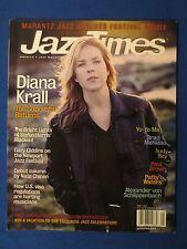 JAZZ TIMES MAGAZINE MAY 2004 DIANA KRALL STEFON HARRIS YA-YO MA BRAD MEHLDAU