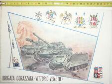 """BRIGATA CORAZZATA """"VITTORIO VENETO""""  @ CALENDARIO COMPLETO DEL 1979@ R@RO"""