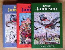 Jesse Jameson Stories Bookset, 1st/1st, HBK, DJ, Sean Wright *ALL SIGNED*