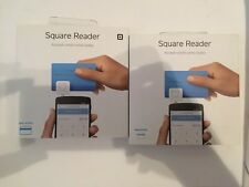 Brand new! Two Square Credit Card Reader with sign up 10 Dollar Account Credit