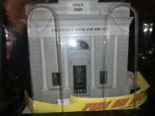 ✅MTH RAILKING FIRST CITY BANK W/ COIN SLOT LIGHTED CITY BUILDING ACCESSORY!