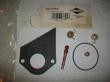 Genuine Briggs and Stratton Carburetor Overhaul Kit 697884 NOS-OEM