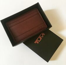 BNEW TUMI Genuine Leather Card case