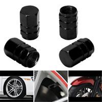 4PCS/Pack Black Tire Wheel Rims Stem Air Valve Caps Tyre Cover Car Truck Bike