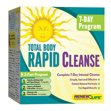 Renew Life Total Body Rapid Cleanse 7-Day 3-Part Kit