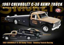 New Acme 1:18 1967 Chevrolet C-30 Ramp Truck - Smokey Yunick Racing A1801703