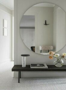 SPECIAL CHEAP Price Modern Frameless Round Polished Edges Wall Mirror .Save$$$