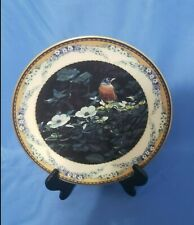 "Vintage Collector plate ""April Song"" from Shades of the Season Collection"