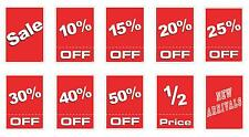 Sale Sign KIT - 20x- A4 Cardboard Sale Signs