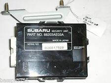 2003 SUBARU OUTBACK SECURITY MODULE COMPUTER 88203AE03A