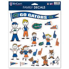 Florida Gators Family Sticker Set Decals