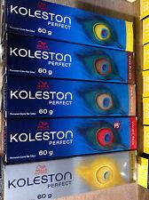 30 x Wella Koleston Perfect Hair Colour 60ml (Hair Dye)