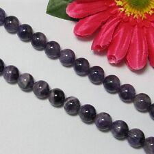 Naturelle AMÉTHYSTE 10mm Ronde Perles 1 Fil