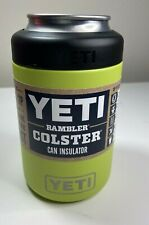 Authentic Yeti 12Oz .Chartreuse Rambler Colster Can Insulator New Unregistered