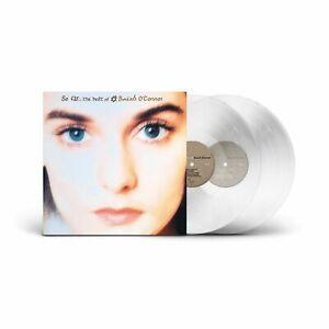 Sinead O'Connor - So Far...The Best Of - Clear Vinyl 2LP - National Album Day