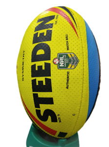 Steeden Symmetry Authentic Match Rugby Ball (NRL holden cup U20's) - Size 5