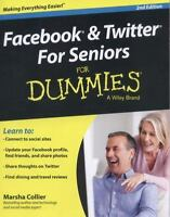 Facebook and Twitter For Seniors For Dummies by Collier, Marsha