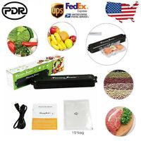 US Automatic Food Saver Vacuum Sealer Meal Machine Foodsaver Sealing System Pack