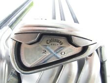 Used Women's Callaway X20 Iron Set 5-P,A (Missing #8) 45g Ladies Flex Graphite