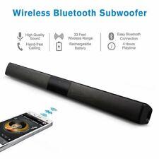 Home Theater TV Soundbar Bluetooth Sound Bar Speaker System w/Built-in Subwoofer