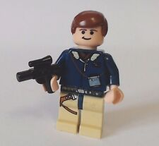 LEGO Star Wars Mini Figure Han Solo Hoth Blue Parka  7879 REF838