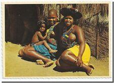 CPSM - Afrique Femme zoulou