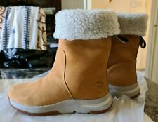 NEW womens TIMBERLAND mid calf boots fur lined size uk 6 eur 39 us 8 RRP £175