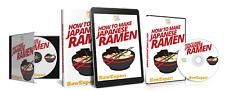 How To Make Japanese Ramen(Ebook + Audio + Online Video Course) - HowExpert