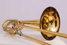 Bach Stradivarius 50A3 Bassposaune bass trombone Bb/F Hagmann Ventile