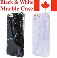 For iPhone 8 7 Plus 6 6S 5 SE X Case - Marble Luxury Thin Protective TPU Cover