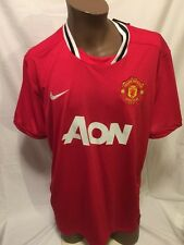 NIKE Dri-Fit MANCHESTER UNITED Home 2013/2014 Men's Jersey NWT XXL BPL NEW