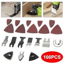 100x Oscillating Multi Tool Saw Blades For Fein Bosch Ridgid Makita Ridgid