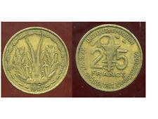 AFRIQUE OCCIDENTALE FRANCAISE   25 francs 1957  ( bis )