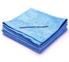 Microfasertuch Poliertuch Poliertücher 5 Stück blau 40cm X 40cm E0095