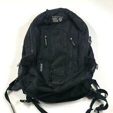 Mountain Hardware Homer Bookbag Camping Hiking Black Everyday Backpack