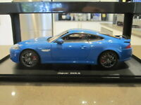 1:18 AUTOART 73641 JAGUAR XKR-S COUPE FRENCH RACING BLUE *NEW*