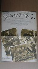 (D05) DDR-Kinoplakat KÖNIGSPOKER / Royal Flash - Malcolm Mc Dowell