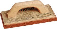 TRIUSO Premium Mehrschicht-Holz-Reibebrett mit rotem Schwammgummi Schwammbrett