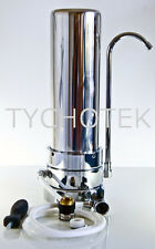 Water filter single-stage and tap