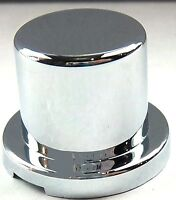 "5 nut covers 9//16/"" bullet chrome plastic 15//16/"" tall Pete Kenworth Freightliner"