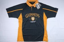 NWT GUINNESS MENS XL PERFORMANCE RUGBY JERSEY POLO SHIRT SHORT SLEEVE 1759 BEER