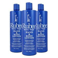 RUBEE BEAUTY MAGIC HAND And BODY Lotion 16 - 3 Bottles