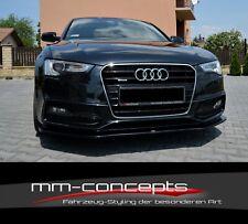 Cup Spoilerlippe CARBON Audi A5 8T S-Line S5 Frontspoiler Spoilerschwert Ver2 II