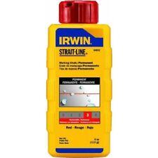 Irwin 64902 Permanent Marking Chalk 8Oz - Red