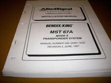 Bendix King MST 67A Mode S ATC System Install Manual