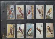 More details for pascall 1925 british birds - complete set of 24 trade cards