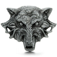 Wolf Cowboy Western Men's Belt Buckles for women Cowboy Vintage Belt Buckle
